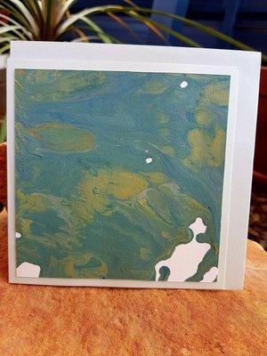 Card - Fluid Art 18