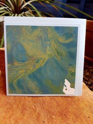 Card - Fluid Art 19