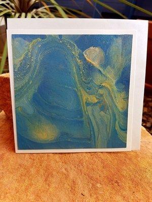 Card - Fluid Art 21