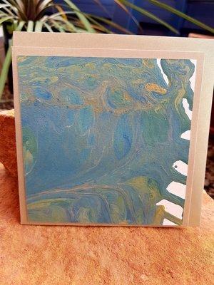 Card - Fluid Art 22