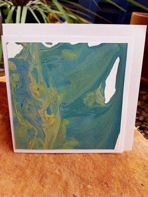Card - Fluid Art 23