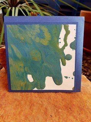 Card - Fluid Art 24