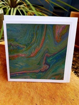 Card - Fluid Art 25