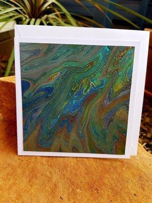 Card - Fluid Art 26