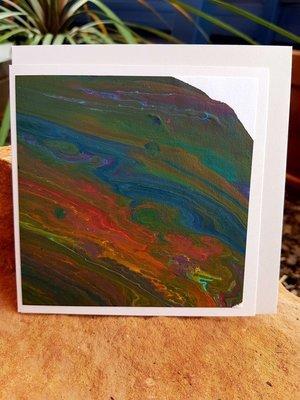 Card - Fluid Art 27