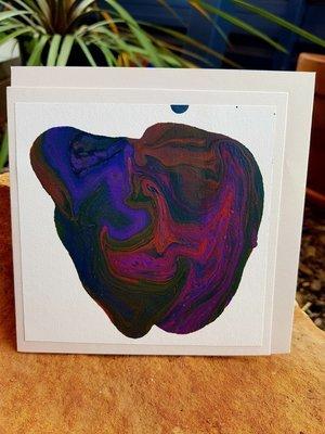 Card - Fluid Art 28