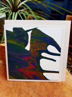 Card - Fluid Art 29