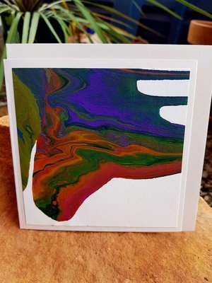 Card - Fluid Art 30