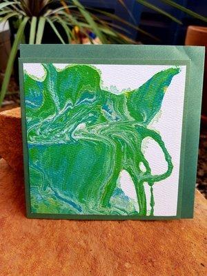 Card - Fluid Art 32
