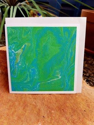 Card - Fluid Art 33