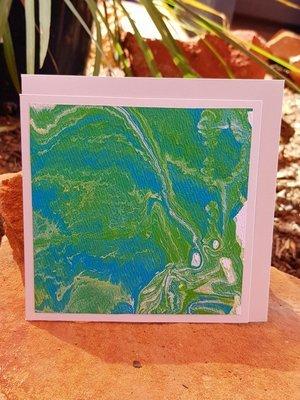 Card - Fluid Art 35