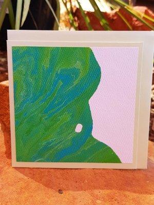 Card - Fluid Art 36