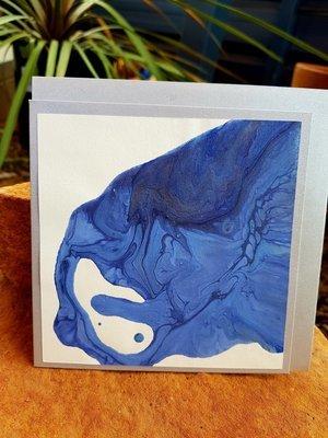 Card - Fluid Art 38