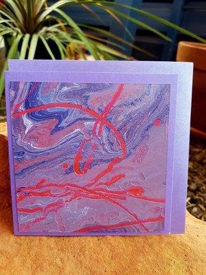 Card - Fluid Art 47