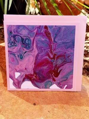 Card - Fluid Art 49