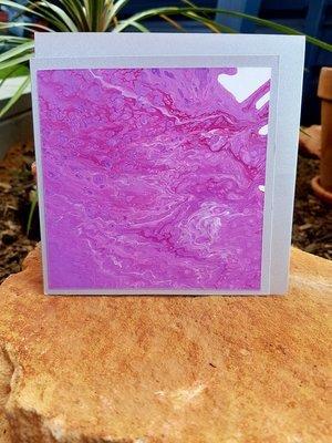 Card - Fluid Art 51