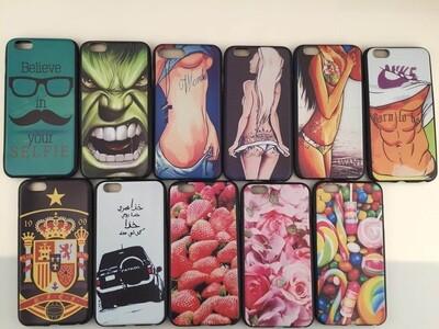 Apple iPhone 7 Novel Pattern Jelly Case