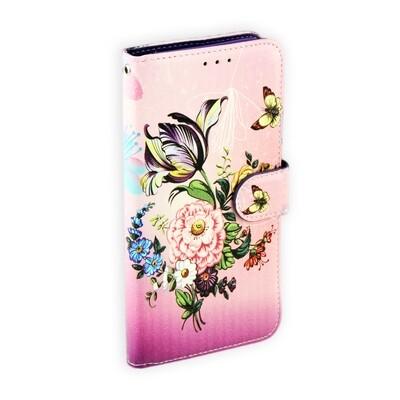 Samsung A50 Art Printed Book Case
