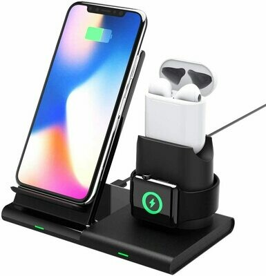 3 in 1 iPhone AirPods and Apple Watch Fast Wireless Charger