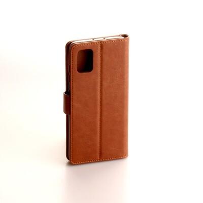 Samsung Galaxy A51 Fashion Plain Book Case