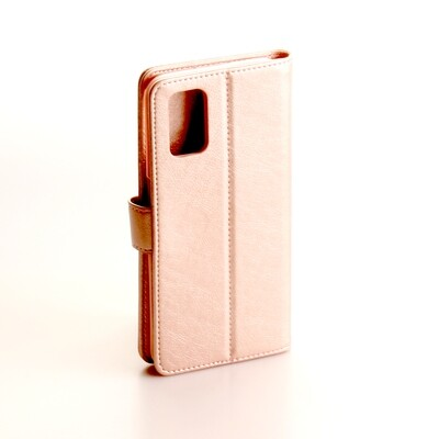Oppo A52 Fashion Plain Book Case