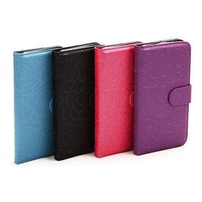 Apple iPhone 6 6s Rose Embossed book case