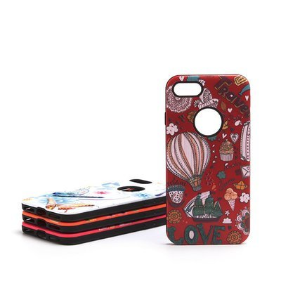Apple iPhone 7 8 Plus 3D Drops ShockProof Back Case