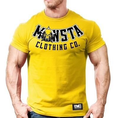 Мужская спортивная футболка Monsta Built Tough-Train Hard-101