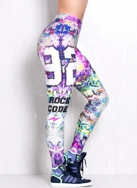Лосины женские Rock Code Legging Elastic Blur