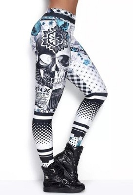 Лосины женские Rock Code Legging Elastic Modern Creation