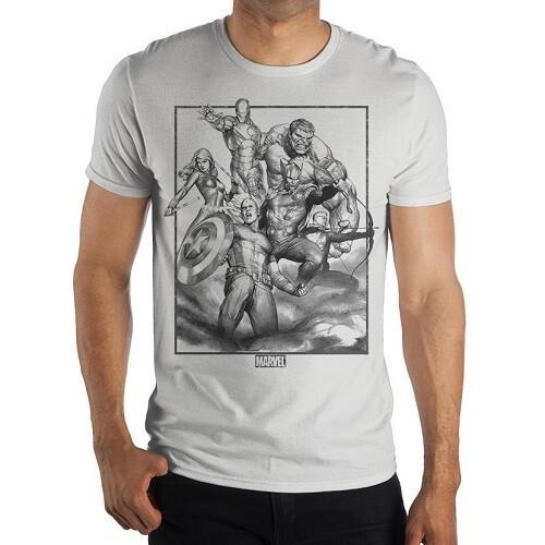 Мужская футболка Marvel AVENGERS