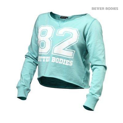 Спортивный женский топ с длинным рукавом Better Bodies Cropped Sweater