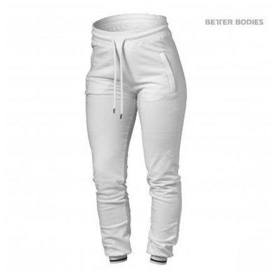 Брюки Better Bodies Madison Sweat Pants, White