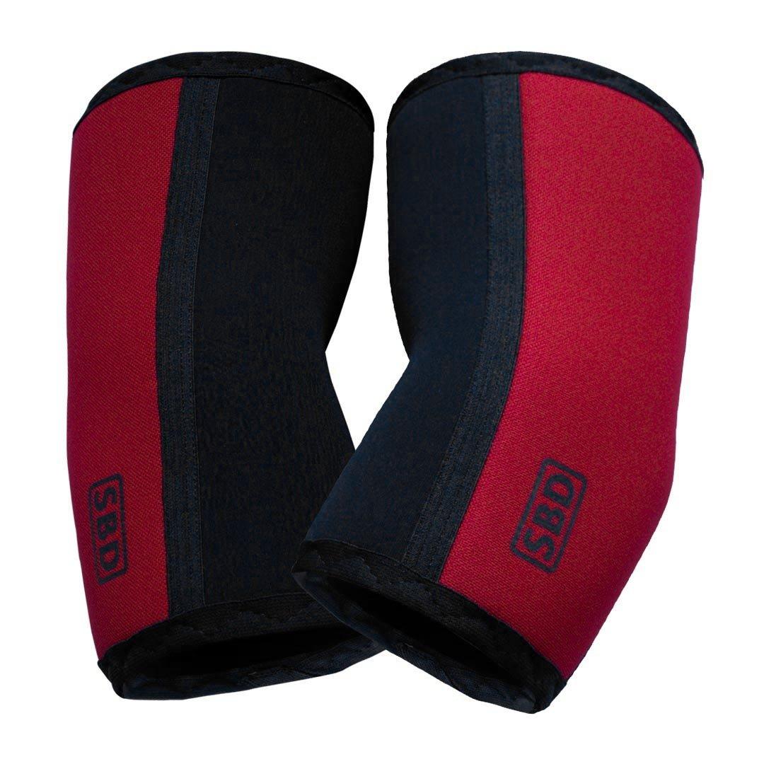 SBD налокотники 7 мм (ограниченная серия RED)