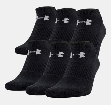 Спортивные носки Under Armour Charged Cotton® 2.0 No Show