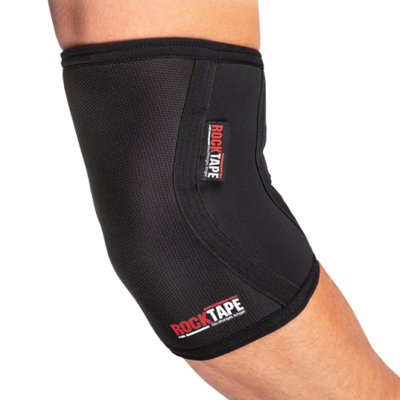 Налокотники RockTape Assassins Elbow 4 мм, Black