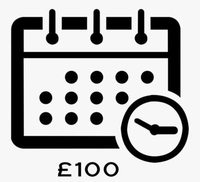 £100 Deposit