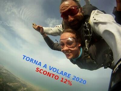 Lancio in Tandem - TORNA A VOLARE - SCONTO 12%