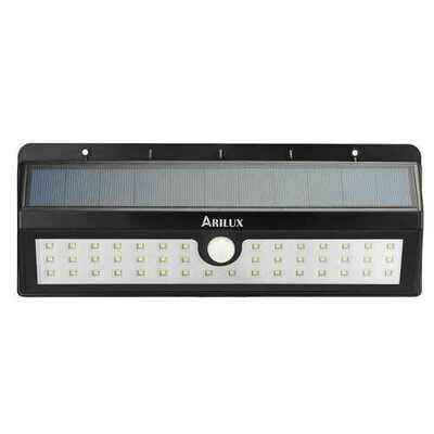 ARILUX PL-SL 03 Solar Powered 44 LED PIR Motion Sensor Light Outdoor Waterproof IP65 Wall Lamp