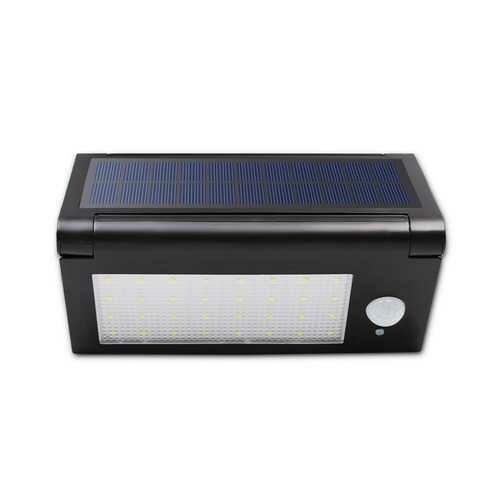 6.4W 32LED Foldable PIR Motion Sensor IP65 Waterproof  Solar Powered Wall Light DC3.7V