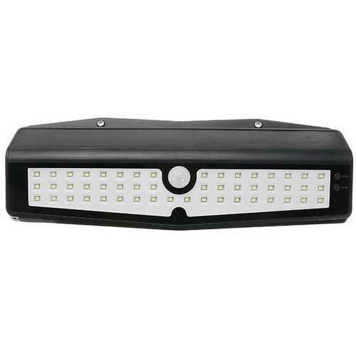 10W 50 LED Solar PIR Motion Sensor Wall Light Outdoor Waterproof Garden Security Lamp DC5V