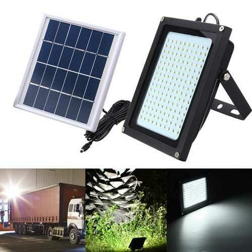 8W Solar Power 150 LED Motion Sensor Flood Light Waterproof Outdoor Garden Path Security Lamp