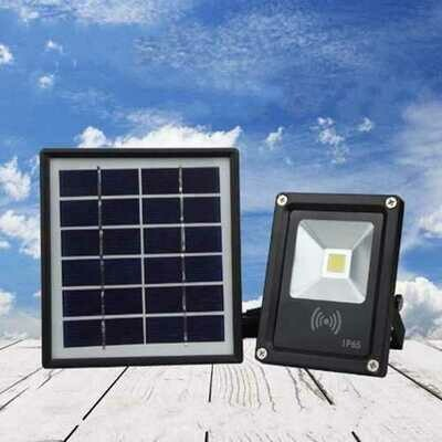 5W Waterproof LED COB Solar Light Radar Motion Sensor Flood Light for Outdoor DC3.7V
