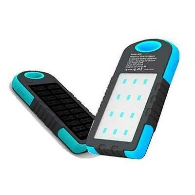 XANES SP2 Solar Charging Power Bank Phone Charger & Camping Tent Work Light Outdoor Flashlight