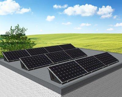 myCleantech-Solar.org™ - Komplett Solaranlage Flachdach 810 - 6'168 WattP