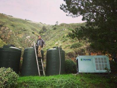 myCleantechFreshWater™ - Fresh water from air - Trinkwasser aus der Luft ab...