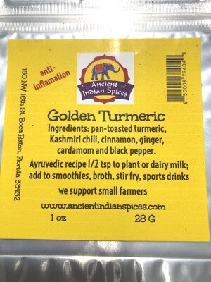 GOLDEN TURMERIC 1 OZ