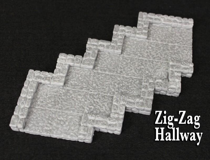 Zig-Zag Hallway