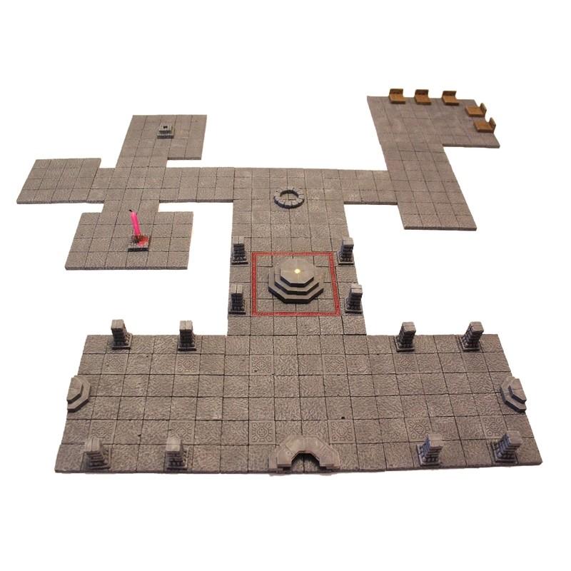 Flat Castle Tile Set
