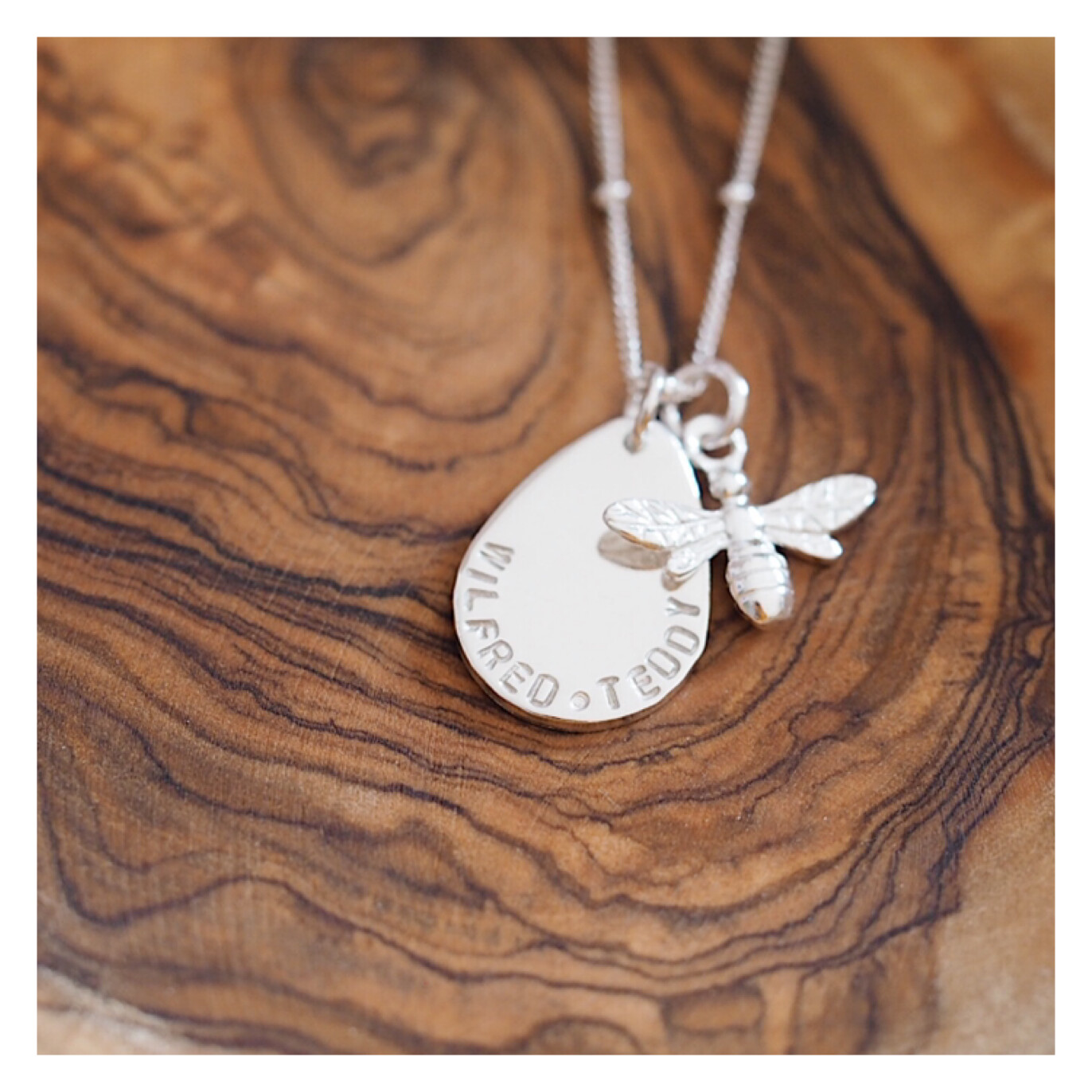 Design Your Own Personalised Necklace - TEARDROP